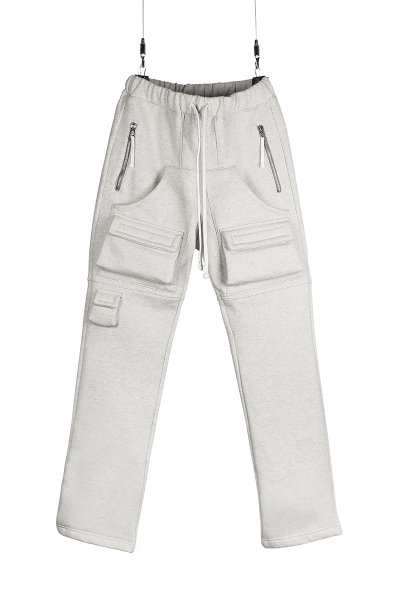 3D CLOUD SWEAT PANT_ASH GRAY