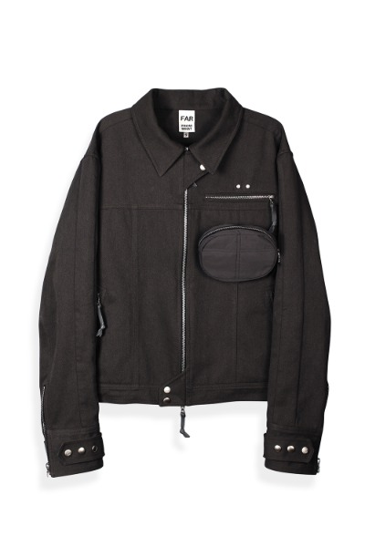 FAR ZIP-UP 3P WK JACKET