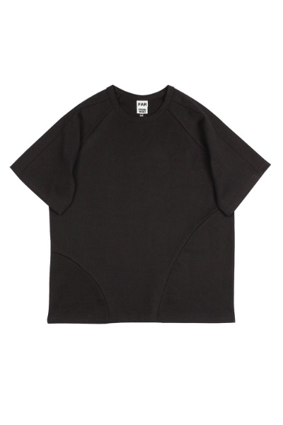 FAR JERSEY OVER T-SHIRTS BLACK