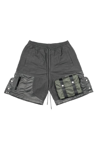 FAR FRONT POCKET NYLON SHORTS