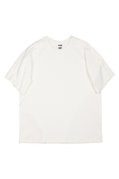 FAR JERSEY OVER T-SHIRTS WHITE