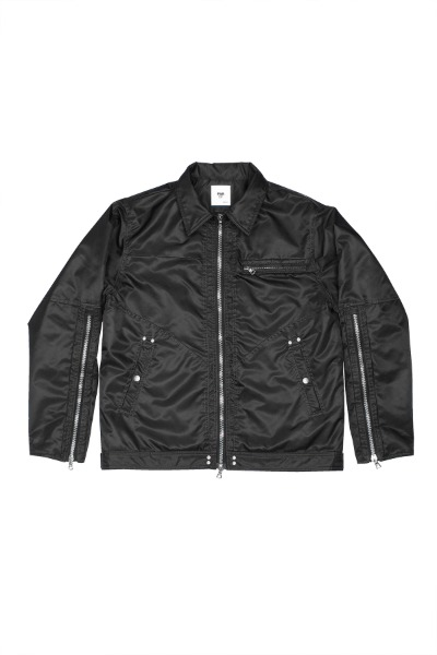 FAR HT NYLON LONG ZIPPER WORK JACKET